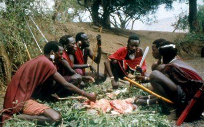 A Maasai Goat Feast Tanzania – 1992